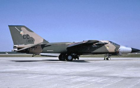 General Dynamics F-111D 68-107 481st Tactical Fighter