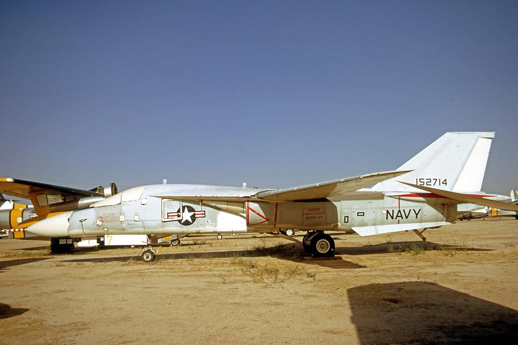 US Navy F-111B in storage at Davis Monthan AFB Arizona in 1971