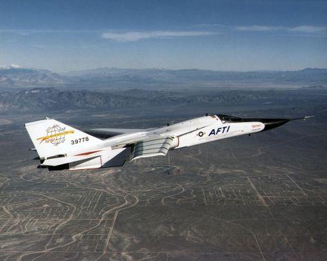 United States Air Force F-111K 1965 NASA