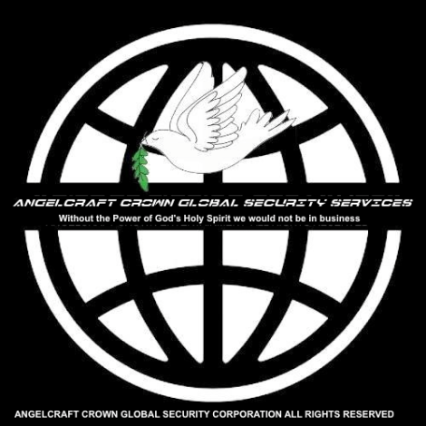 01 AGS Official Company Emblem ™Angelcraft Crown Global Security Services …protecting world citizens from bad people and government …all rights reserved